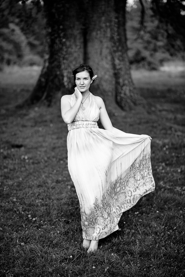 Portrait Serie Outdoor in der Natur