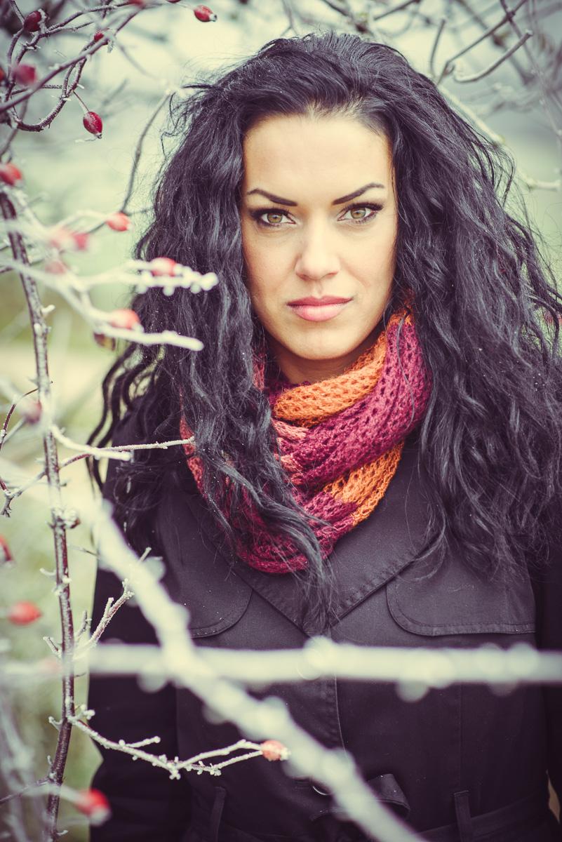 Portrait Outdoor im Winter