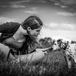Mensch-Hund Portraitserie Natur