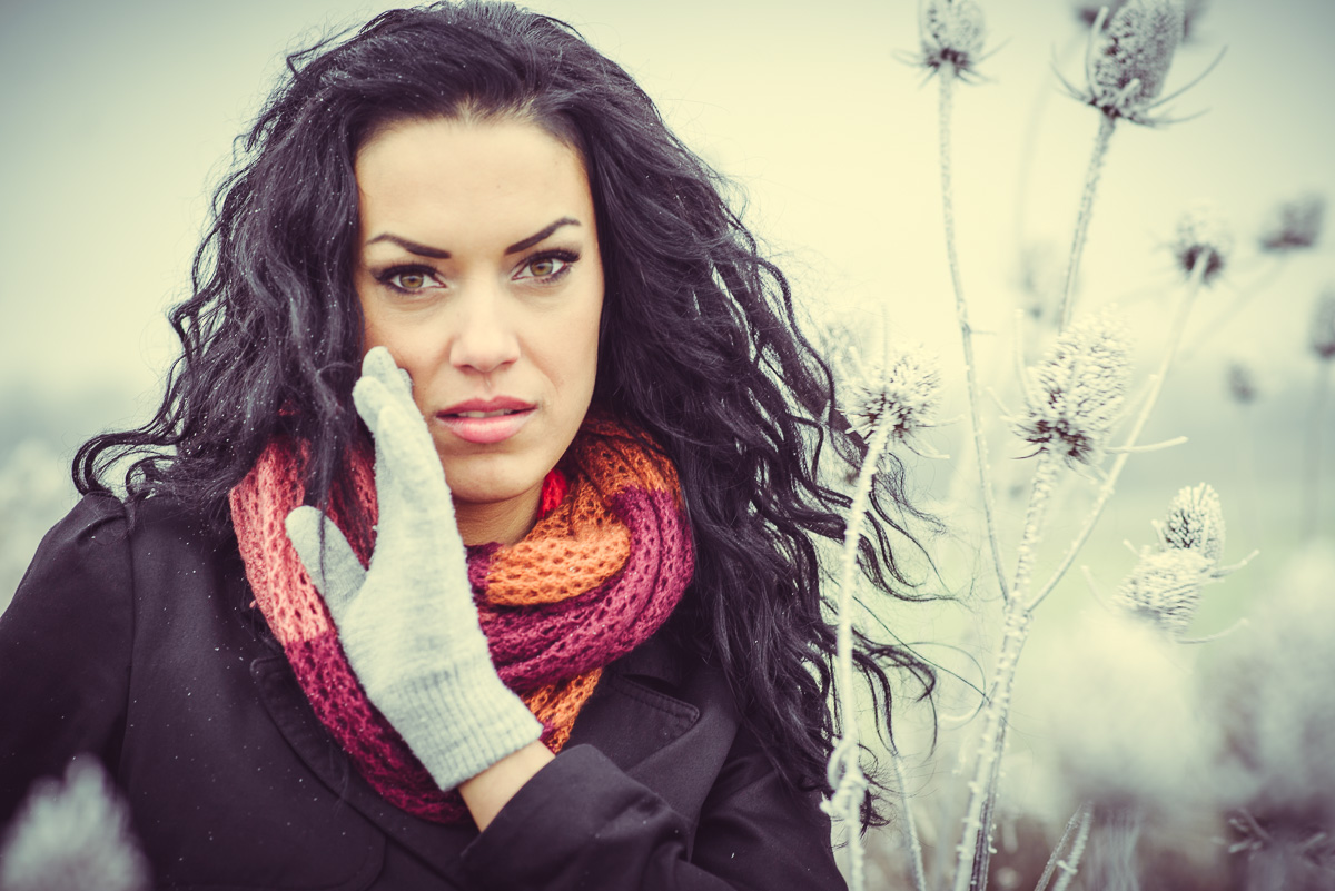 Portrait Outdoor im Winter