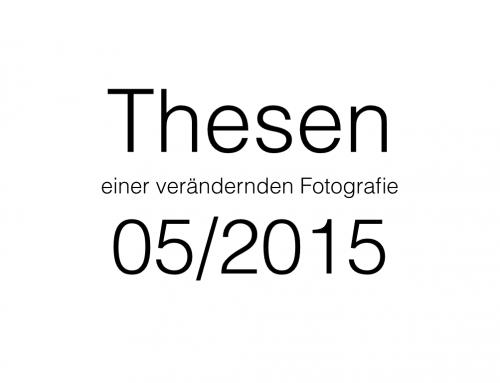 Thesen 05/2015